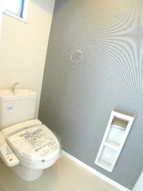 バス・トイレ別々の間取りです♪あると嬉しい【洗浄機能付き便座】を設置しております♪