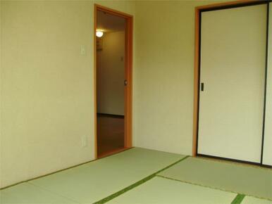 落ち着く和室です