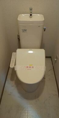 洗浄機能付で快適なトイレ★