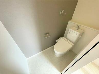 【トイレ】 家計にも環境にも優しい節水型ウォシュレット付トイレ!