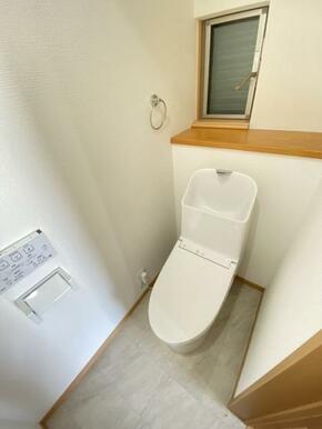 温水洗浄機能付きトイレ 新品交換済み