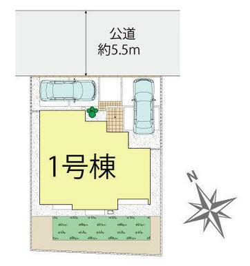 佐倉市中志津5丁目 区画図