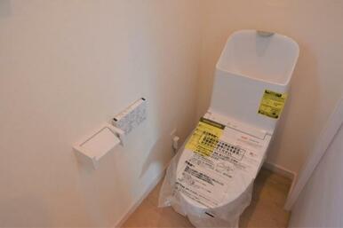 お掃除楽々高機能トイレ!
