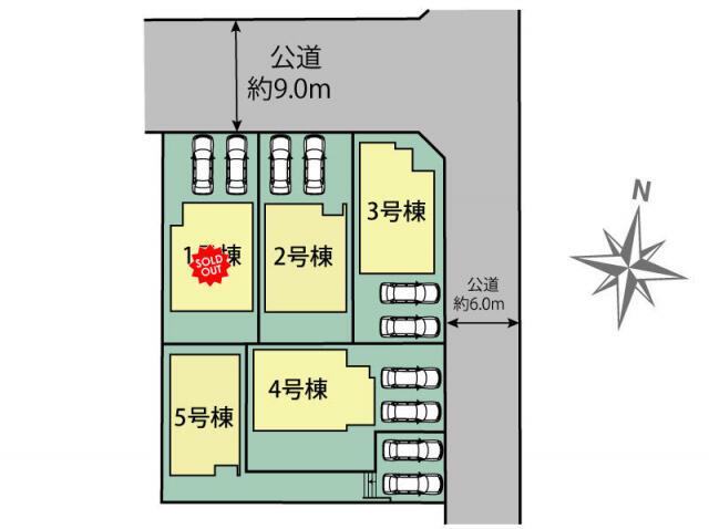 名古屋市守山区 大字上志段味字樹木 2階建 3LDKの写真