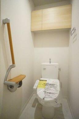 ◆暖房洗浄便座付きトイレ◆暖房洗浄便座付きなので、オールシーズン快適にご利用いただけます!収納棚、タ
