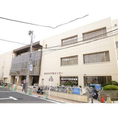 横浜市戸塚図書館