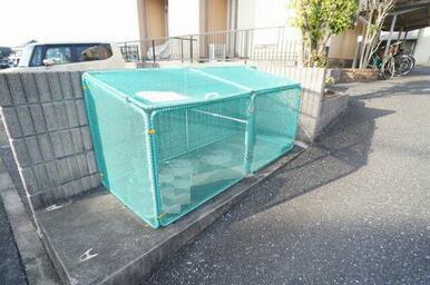 ☆ご入居者様専用のゴミ集積所もございます!!