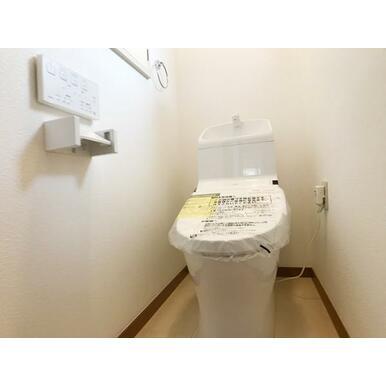 二階トイレ新品交換