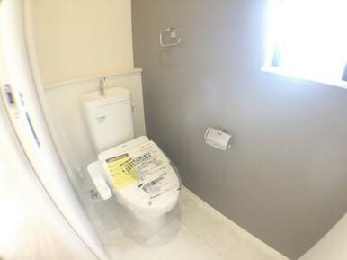 【トイレ】 家計と環境に優しい、節水型ウォシュレット付トイレ!