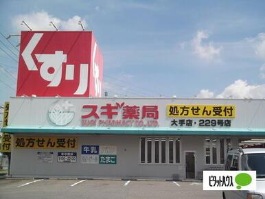 スギ薬局大手店