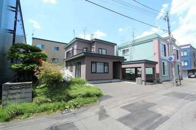 札幌市北区 麻生町6丁目 (麻生駅) 2階建 4LDK