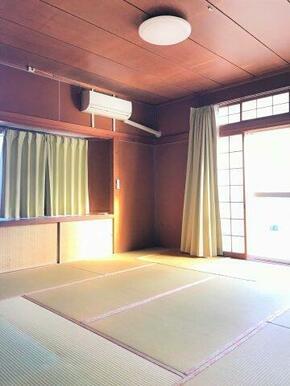 ☆南側から陽射しが入る明るい和室☆