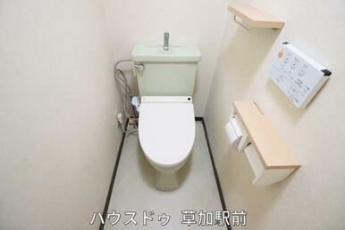 シャワー付きトイレです♪