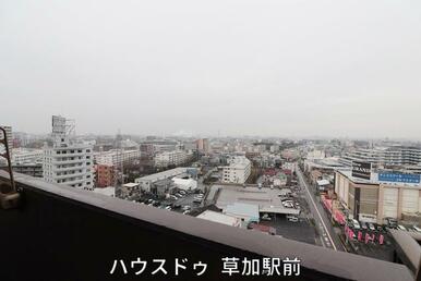 13階部分からの眺望です♪