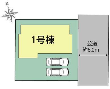 千葉市稲毛区宮野木町 区画図