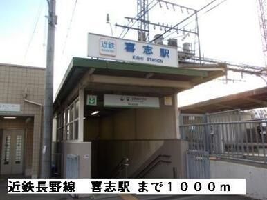 近鉄長野線喜志駅