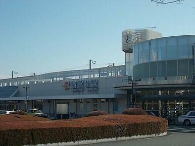 東海道新幹線 新富士駅まで2100m