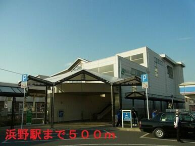 JR内房線 浜野駅