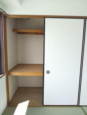 和室にも収納スペースが御座います★