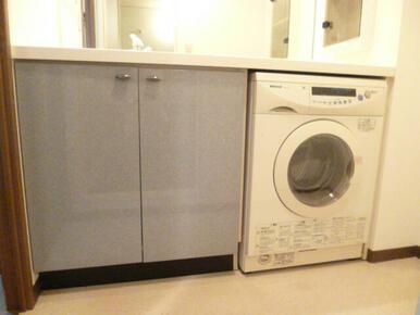・ドラム式洗濯機付・