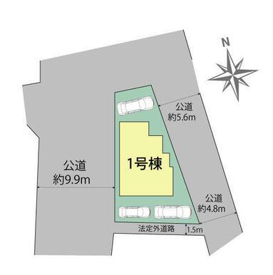 浜松市浜北区於呂 区画図
