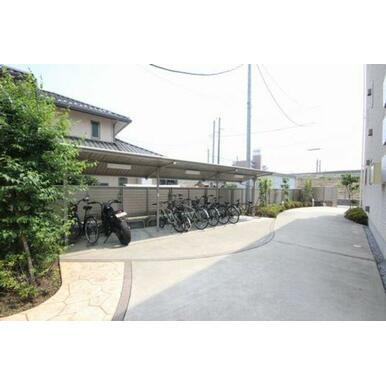 ◆屋根付駐輪場◆