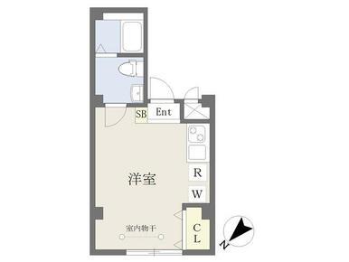 バストイレ別・室内設備充実・広々8.9帖の洋室
