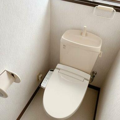 約2年前に便座交換済のトイレ!