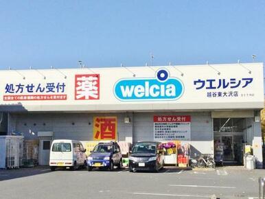 ウエルシア越谷東大沢店