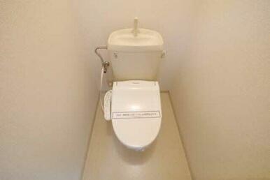 トイレがさらに快適に!暖房温水洗浄便座!