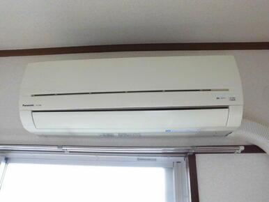 エアコン2台設置済です