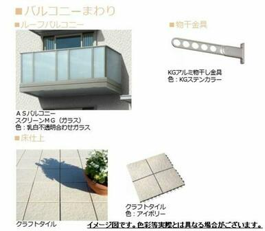 ■バルコニーイメージ図■