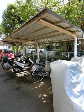 ★屋根付き駐輪場★(バイク不可)