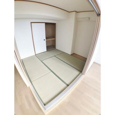 【和室】 客間としても家事スペースとしても便利な和室!