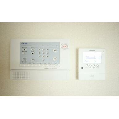 【ALSOK・録画機能付きTVモニターインターフォン】ALSOKホームセキュリティー搭載物件(別途: