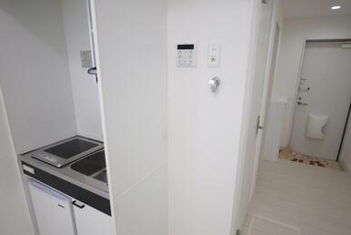 IHコンロ&ミニ冷蔵庫付きキッチン