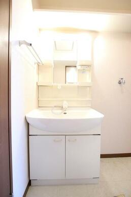 忙しい朝にも便利なシャワー付き独立洗面台♪