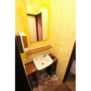 お客様用の洗面スペースございます。
