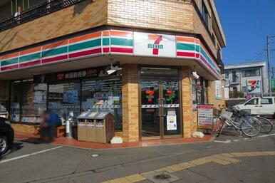 セブンイレブン 仙台砂押店まで徒歩4分(242m)