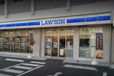 ローソン磯子間坂バス停前店