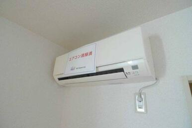 2009年製のエアコンです。