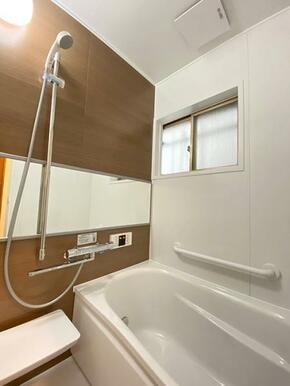 浴室は新品交換済みです。