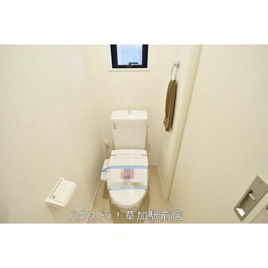 1階と2階両方にトイレございます!