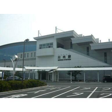 川内駅東口
