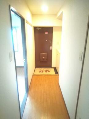 玄関前の廊下スペース