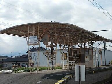 岳南鉄道 須津駅まで350m
