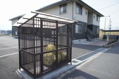 ◆敷地内にゴミ置き場あります◆