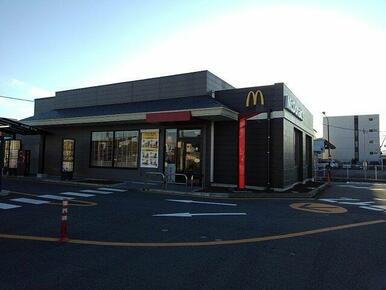 マクドナルド1号線富士店まで550m