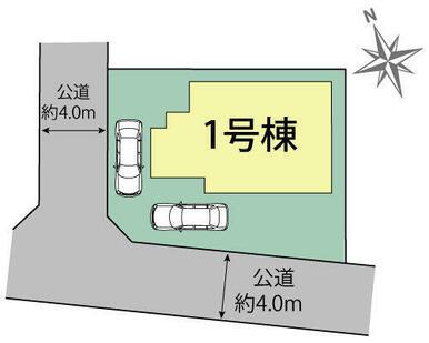 大和市福田 区画図