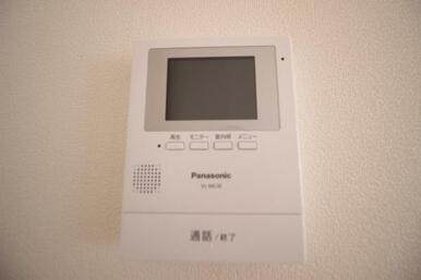 【TVモニターインターフォン】